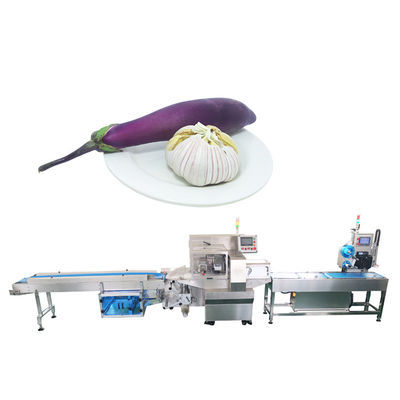 OPP CPP Pillow Celery Vegetable Wrapping Machine
